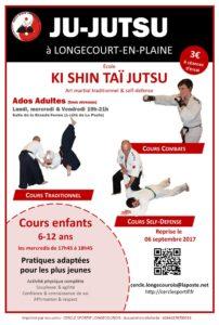 Ju-Jitsu à Longecourt en Plaine